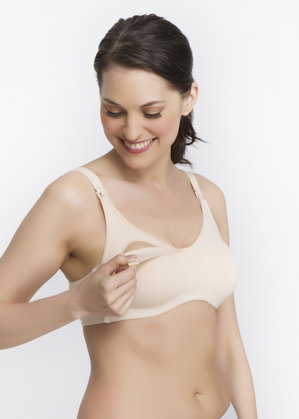 45a940156f QT 361 Cotton Blend Wireless Nursing Bra. Special Features  Soft ...